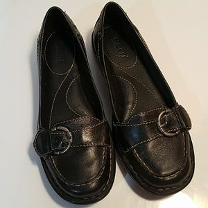 Born Black Leather Hand Crafted Shoes